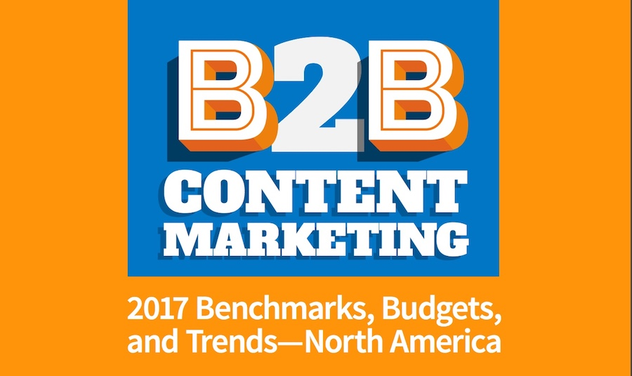 2017 Content Marketing Benchmark Report
