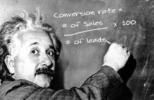 Albert Einstein explains sales conversions